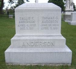Sallie Frances <i>Prewitt</i> Anderson