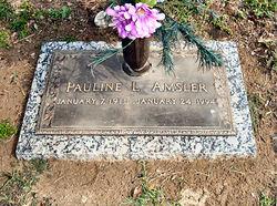 Annie Pauline Pauline <i>Lavender</i> Amsler