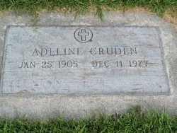 Adeline I Addie <i>Lattimer</i> Cruden