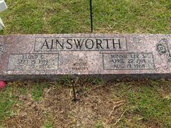 Minnie Lee <i>S</i> Ainsworth