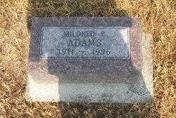 Mildred Pauline Adams