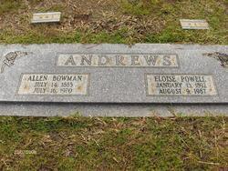 Allen Bowman Andrews
