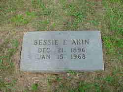 Bessie Elizabeth <i>Edwards</i> Akin