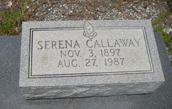 Serena <i>Shelby</i> Callaway