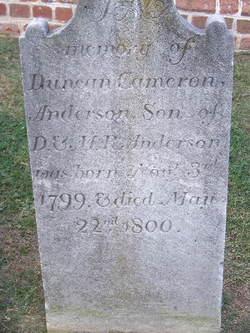 Duncan Cameron Anderson