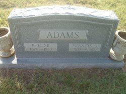 Francis J <i>Collier</i> Adams