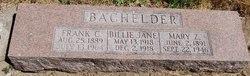 Billie Jane Bachelder