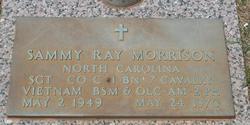Sgt Sammy Ray Morrison