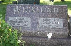 Renae <i>Ahlers</i> Wicklund