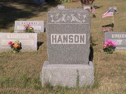 Josephine Amanda <i>Sten</i> Hanson