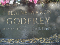 Elaine <i>Aaron</i> Godfrey