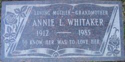 Annie Laura Madea <i>Spencer</i> Whitaker