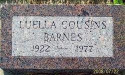 Luella <i>Cousins</i> Barnes