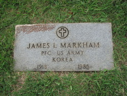 JAMES LAWRENCE MARKHAM