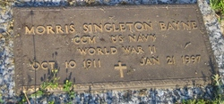 Morris Singleton Bud Bayne