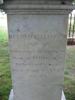 Huldah Elizabeth <i>Prince</i> Blanchard