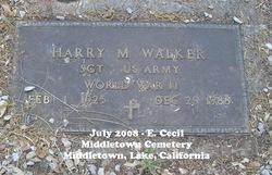 Harry M. Walker