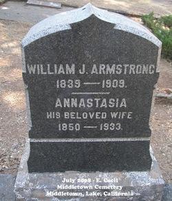 Annastasia <i>Gordon</i> Armstrong