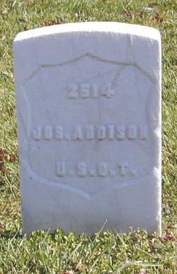 Pvt Joseph Addison