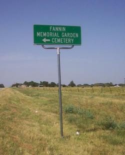 Fannin Memorial Gardens