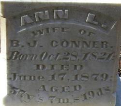Annie Lunsford <i>Traweek</i> Conner