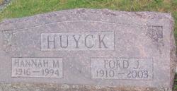 Hannah May <i>Greenlees</i> Huyck