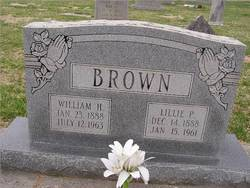 Lillie <i>Poston</i> Brown