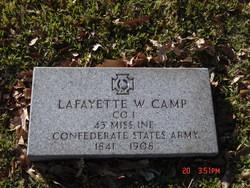 Lafayette W Camp
