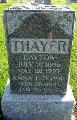 Anna L. <i>Plank</i> Thayer