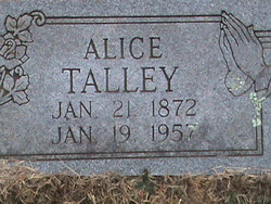 Alice <i>Soden</i> Talley
