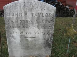 John P Taylor