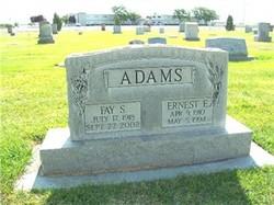 Fay <i>Schall</i> Adams