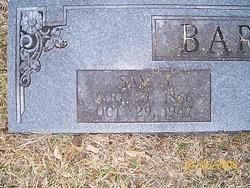 Samuel Jones Barton