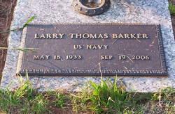 Larry <i>Thomas</i> Barker