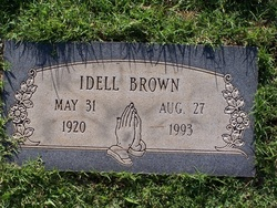 Idell <i>Cross</i> Brown
