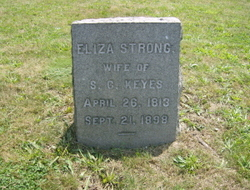 Eliza <i>Strong</i> Keyes