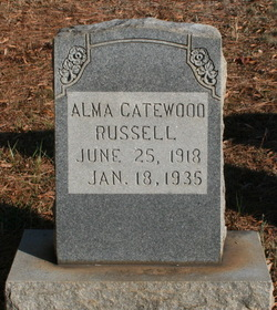 Alma Catewood Russell