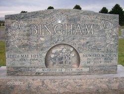 Edith Mae <i>Field</i> Bingham