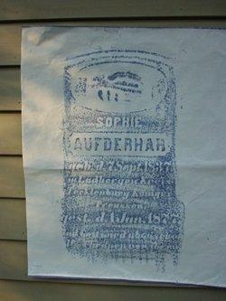 Sophie Elisabein <i>Schoppenhorst</i> Aufderhar