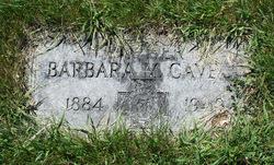 Barbara <i>Oehler</i> Cavell