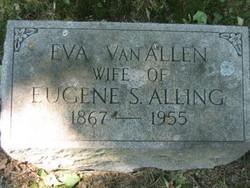 Eva M. <i>Van Allen</i> Alling