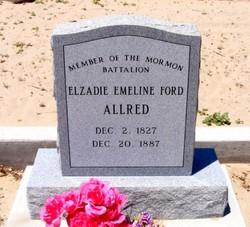 Elzadie Emeline <i>Ford</i> Allred