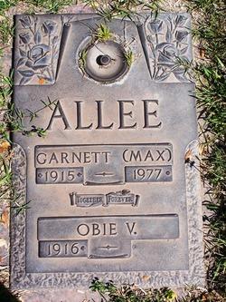 Garnett Max Allee