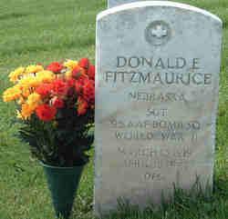 Sgt Donald E Fitzmaurice