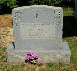 Gwyndolen <i>Warhurst</i> Johns