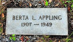 Berta Lou <i>Lavender</i> Appling