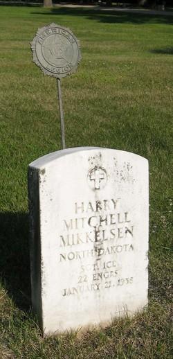 Sgt Harry Mitchell Mikkelsen