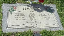 Bertha Haley