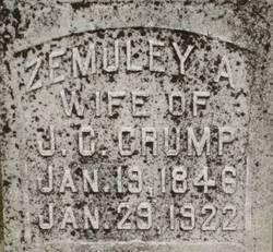 Zemuley Ann <i>McCleskey</i> Crump