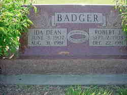 Ida Dean <i>Lee</i> Badger